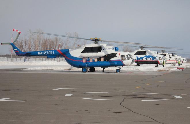 """Авиакомпания """"Витязь-Аэро"""" получила два вертолета Ми-8МТВ-1"""