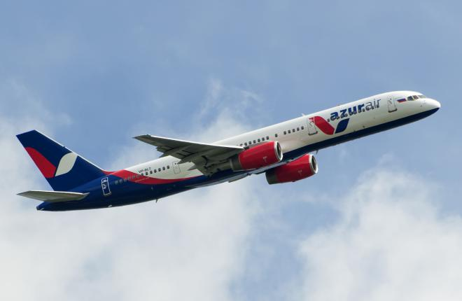 Авиакомпания Azur Air вывела из парка два Boeing 757