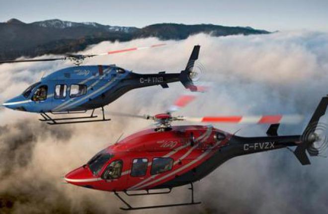 Российским клиентам передали два вертолета Bell-429