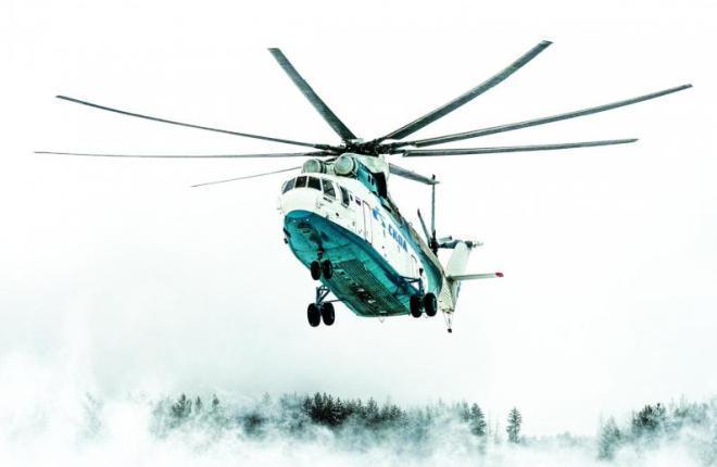 "Ми-8 авиакомпании ""СКОЛ"""