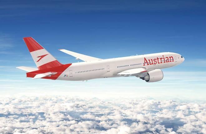 Новая ливрея австрийской авиакомпании Austrian Airlines