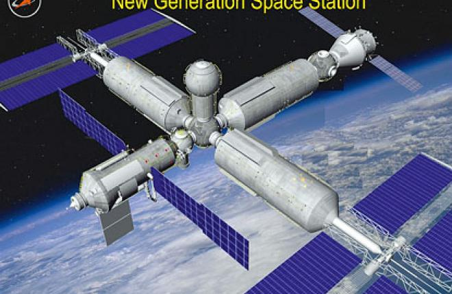 Российская орбитальная станция Ракетно-космической корпорации Энергия