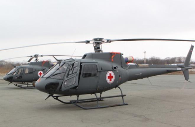 Приморье получило вертолеты Airbus Helicopters H125 для санитарной авиации