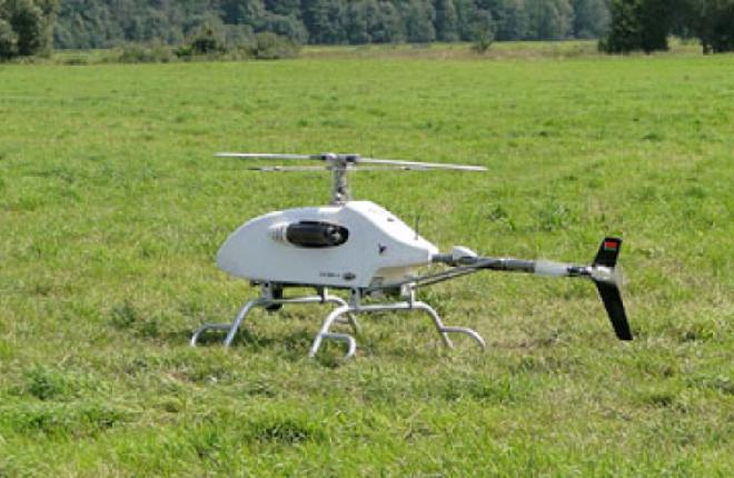 Радиус действия беспилотного вертолета I.N.Sky составляет 100км