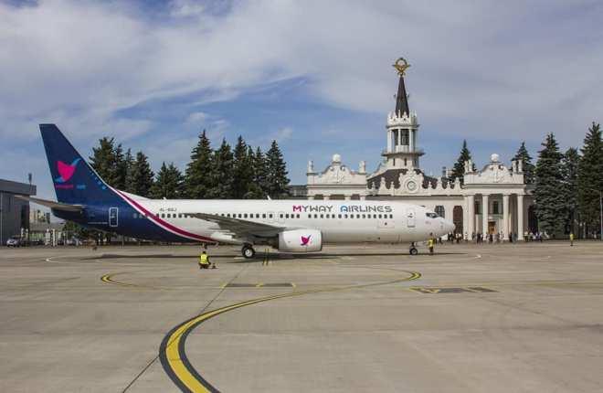 Boeing 737-800 авиакомпании Myway Airlines