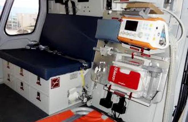 В России сертифицированы медицинские модули для вертолетов H125 и H130