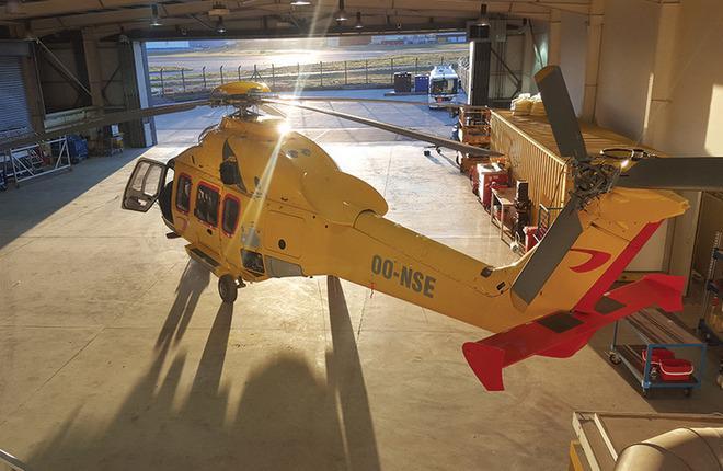 Вертолетного оператора NHV допустили к ремонту техники из России