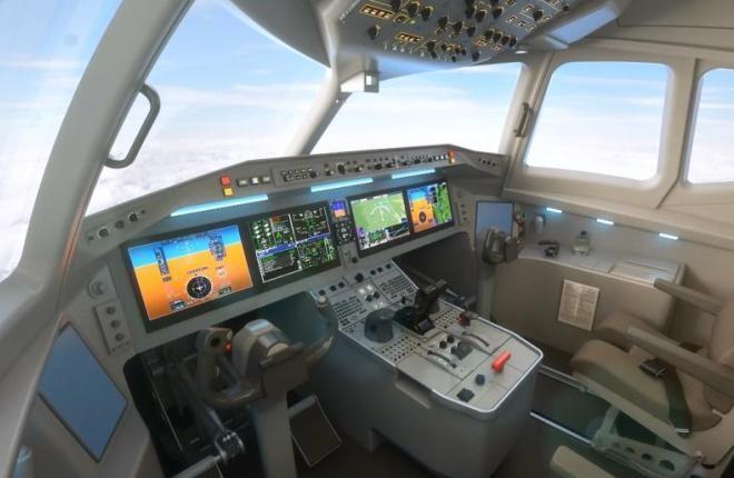 MA700 кабина