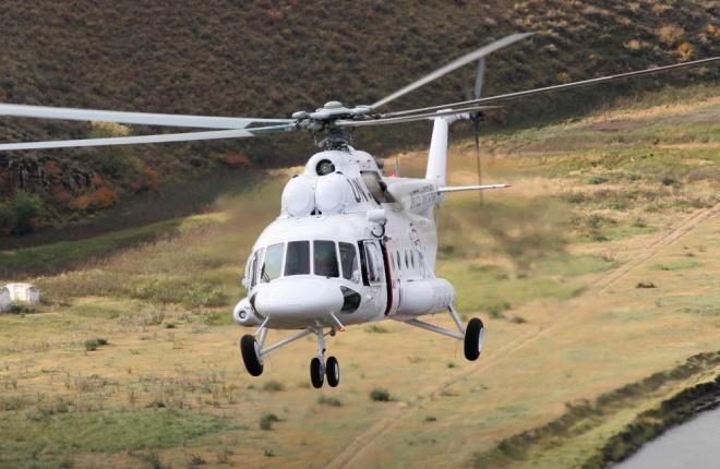 Вертолет семейства Ми-8