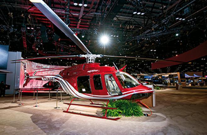 Bell-407GXP получил повышенную грузоподъемность и увеличенный межремонтный ресурс