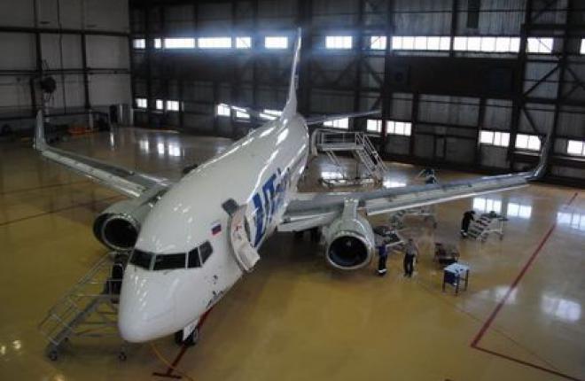 """""""Уральские Авиационные Сервисы"""" провели первый C-check самолета Boeing 737"""