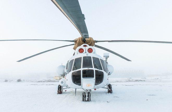 """МИ-8МТВ-1 авиакомпании """"Полярные авиалинии"""""""