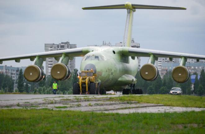 """""""Авиастар-СП"""" ускорит производство транспортных самолетов Ил-76МД-90А"""