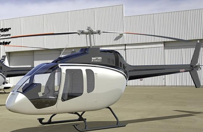 Вертолет Bell-505 впервые привезут в Россию