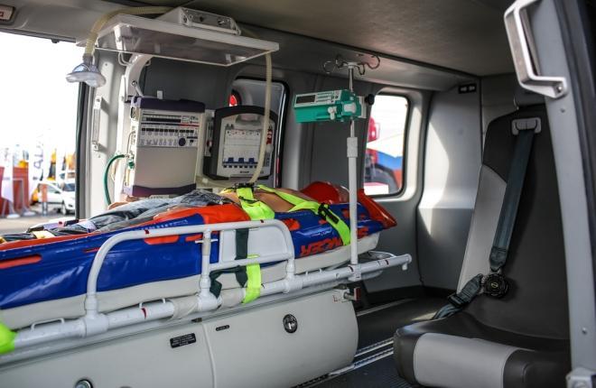 Медицинский модуль вертолета