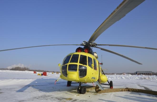 """Вертолет Ми-8АМТ авиакомпании """"Восток"""""""
