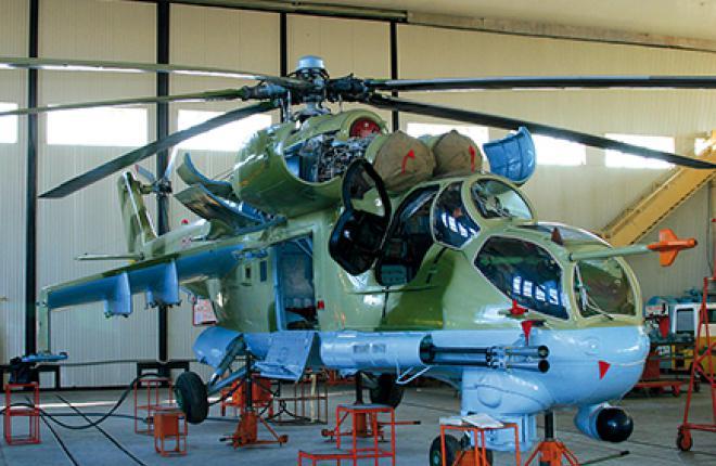 С 2004 г. на 558-м АРЗ модернизируют Ми-8 белорусских ВВС