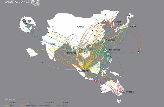 Азиатские лоукостеры объединились для борьбы с конкурентами