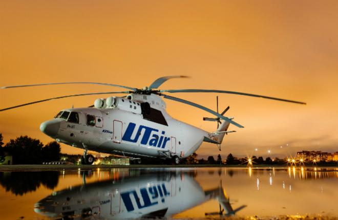 """Вертолет Ми-26 авиакомпании """"ЮТэйр"""""""