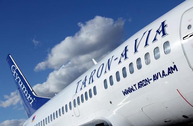 Boeing 737-500 авиакомпании Taron-Avia