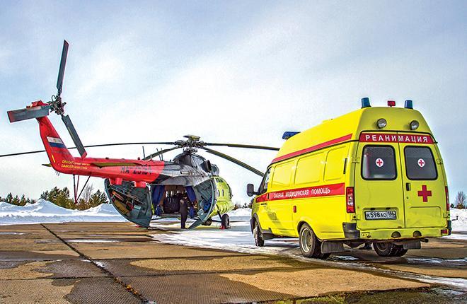 """Прошлый год для российской вертолетной индустрии прошел под знаком возрождения санитарной авиации :: """"ЮТэйр — Вертолетные услуги"""""""