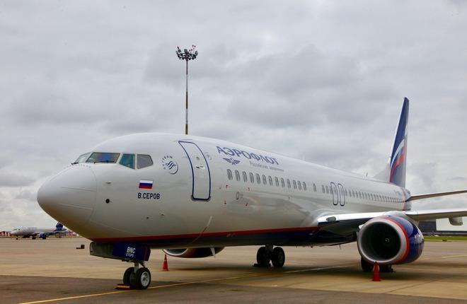 """""""Аэрофлот"""" принял два новых самолета Boeing 737-800"""