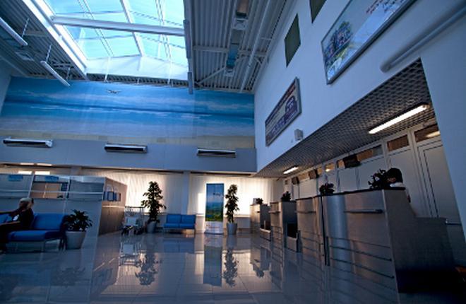 В аэропорту Геленджика ускорили регистрацию пассажиров