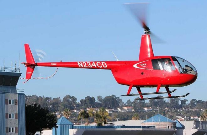 Поставки вертолетов Robinson Helicopter сильно сократились