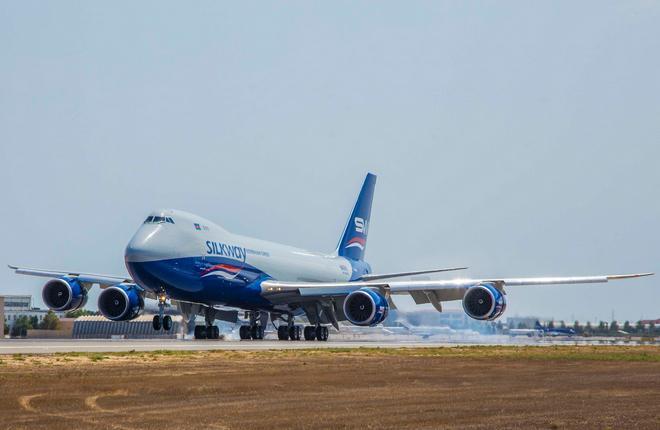 Silk Way West Airlines получила грузовой Boeing 747-8