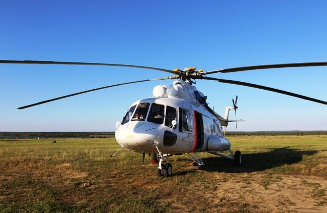 """ГТЛК поставила """"Полярным авиалиниям"""" четвертый медицинский вертолет"""