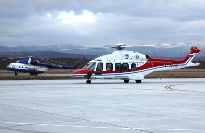 """AgustaWestland AW189 компании """"Авиашельф"""""""