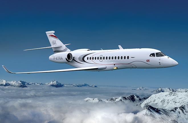 Первый полет Falcon 6X намечен на начало следующего десятилетия :: Dassault Aviation