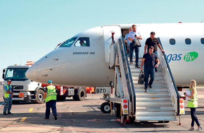 Первый рейс в Саратов Pegas Fly и NordWind Airlines состоялся 28 августа // Руслан Денисов