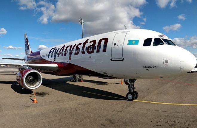 180-местный самолет Airbus A320 с бортовым номером P4-КВС