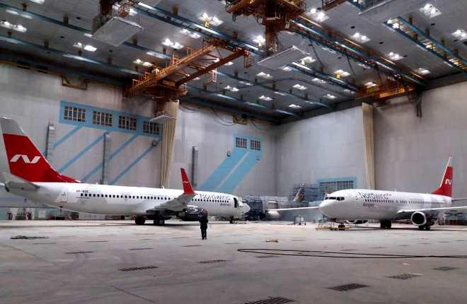 "Два B-737-800 авиакомпании Nordwind в ""Спектр-Авиа"""