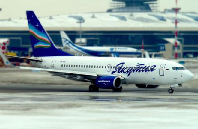 """Самолет Boeing 737-800 авиакомпании """"Якутия"""" задержан за долги"""