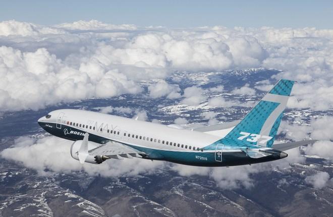 Первый полет самолета Boeing 737MAX-7