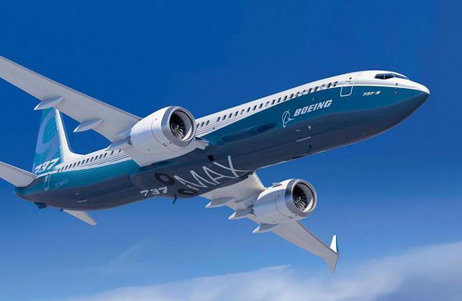 самолет 737MAX