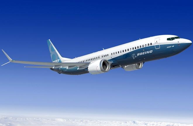 Самолет B-737MAX