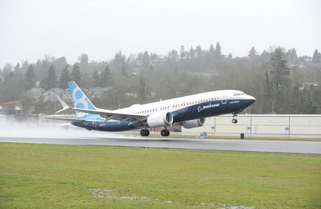 Прототип Boeing 737MAX совершил первый полет