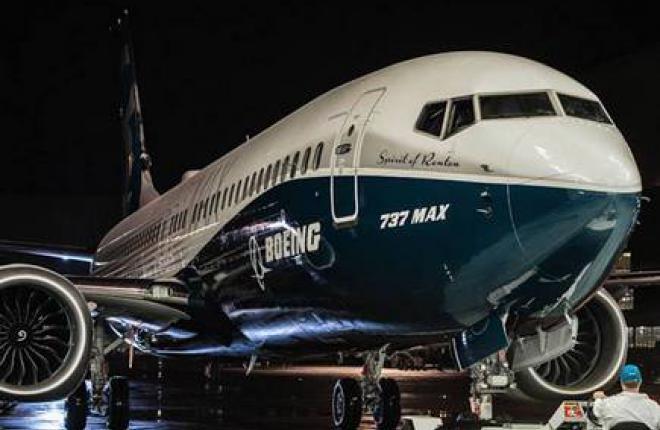 Самолет Boeing 737 MAX готовится первому полету
