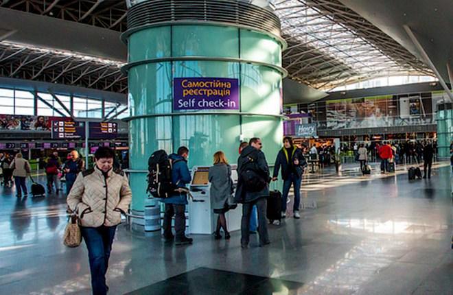 Аэропорт Борисполь продолжил наращивать пассажиропоток