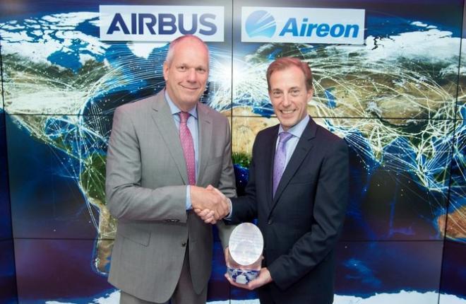 Представители компаний Airbus Defence and Space и Aireon