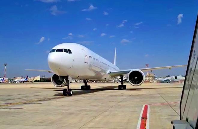 B-777-300ER, который будет конвертирован в грузовой вариант