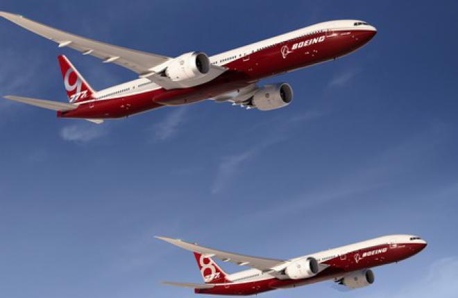 Boeing официально объявил о запуске программы Boeing 777X