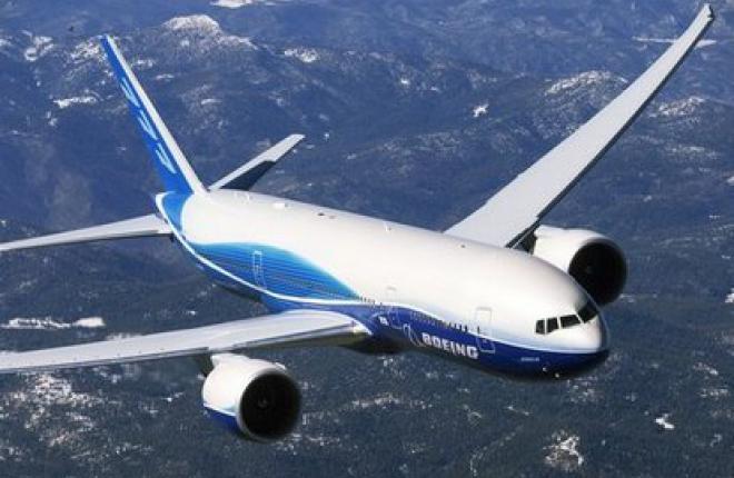Boeing построит самолеты Boeing 777X со складывающимся крылом