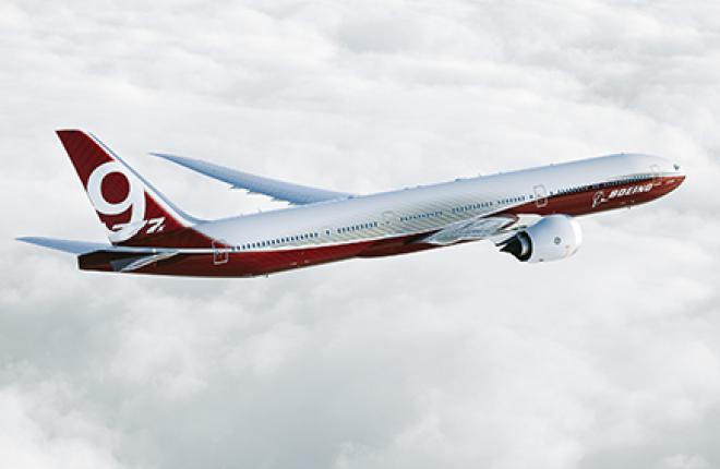У модели 777X появится ряд внешних конструктивных особенностей, отличающих ее от предшественника