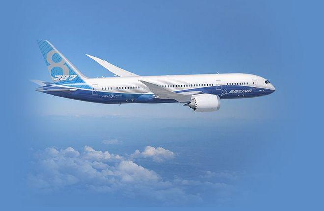 На Boeing 787 выявили опасность потери управления