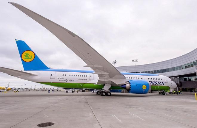 Uzbekistan Airways приняла первый Boeing 787-8