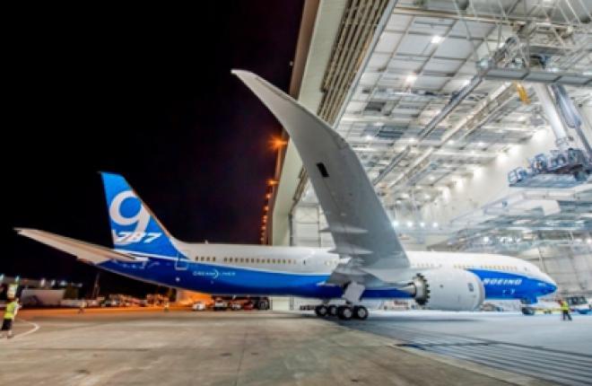 Первый Boeing 787-9 окрашен в новую корпоративную ливрею